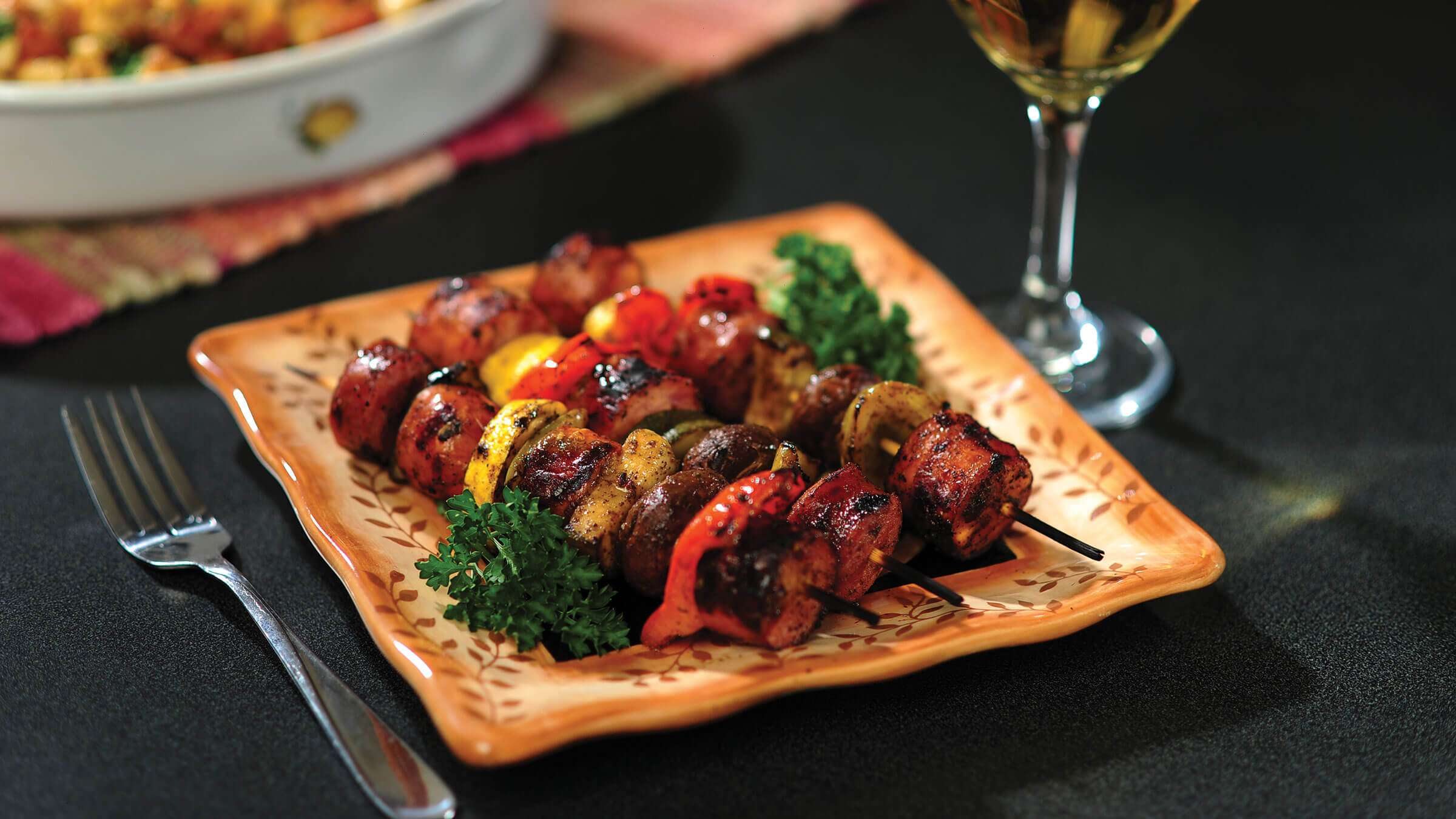 Sausage Skewers