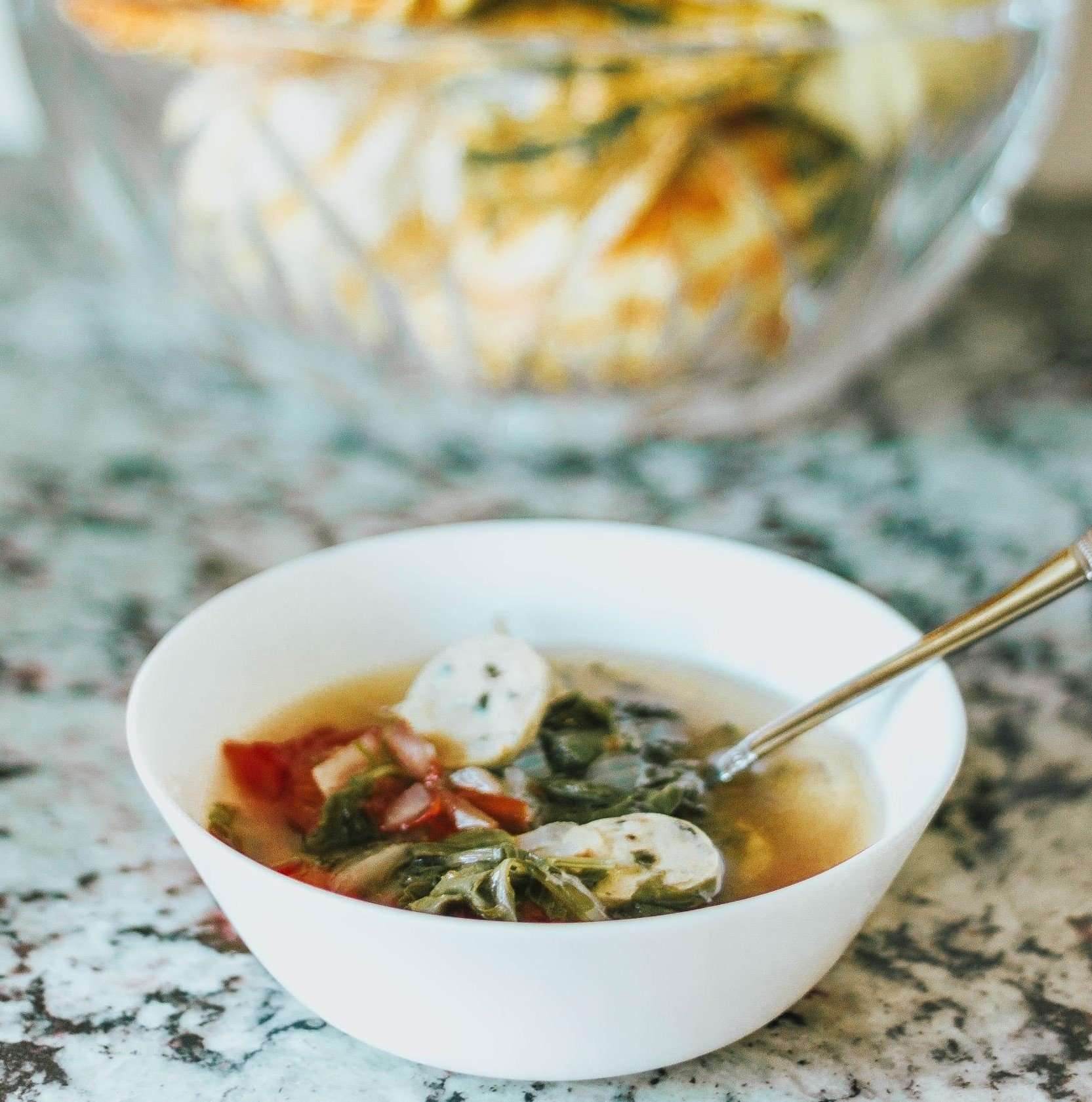Healthy & Easy Chicken Sausage Soup